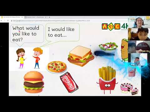 Lớp học Online ABC4KIDS - Teacher Willow - What do you eat for breakfast?